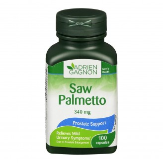 Adrien Gagnon Natural Health Saw Palmetto Capsules