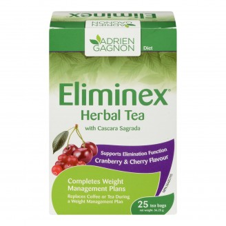 Adrien Gagnon Eliminex Herbal Tea with Cascara Sagrada