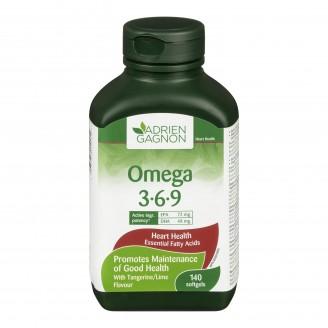 Adrien Gagnon Omega-3- 6- 9 Softgels