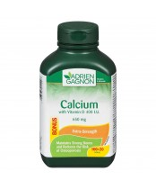 Adrien Gagnon Calcium with Vitamin D Tablets Bonus Size