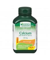 Adrien Gagnon Calcium with Vitamin D Tablets Bonus Size