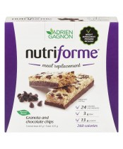 Adrien Gagnon Natural Health Nutriforme Meal Replacement Bars