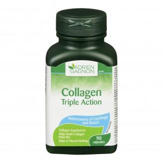 Adrien Gagnon Natural Health Triple Action Collagen Capsules