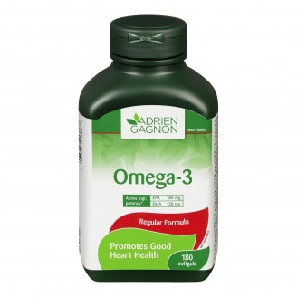 Adrien Gagnon Natural Health Omega-3 Softgels
