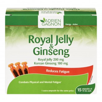 Adrien Gagnon Natural Health Royal Jelly Ginseng