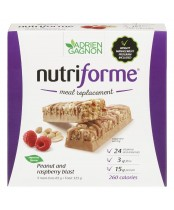 Adrien Gagnon Nutriforme Meal Replacement Bars