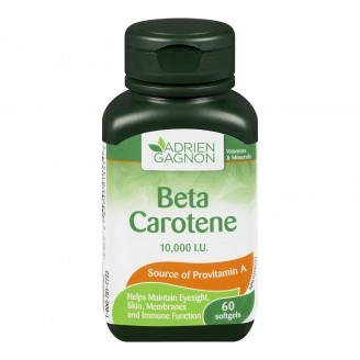 Adrien Gagnon Beta Carotene Softgels