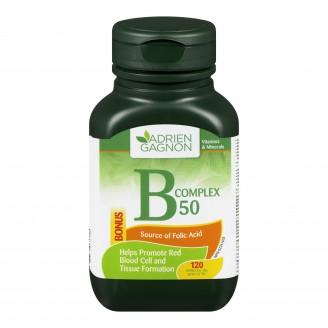 Adrien Gagnon Vitamin B50 Complex Tablets Bonus Size
