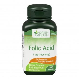 Adrien Gagnon Folic Acid Capsules