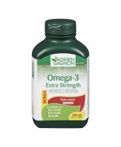 Adrien Gagnon Omega-3 Extra Strength Triple Action Bonus Pack