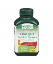 Adrien Gagnon Omega-3 Enriched Formula Double Action Bonus Pack