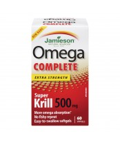 Jamieson Omega Complete Easy-to-Swallow Softgels