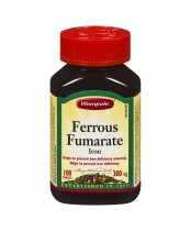 Wampole Ferrous Fumarate Iron Tablets