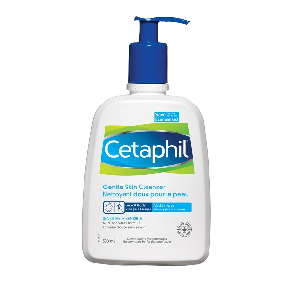 Buy Cetaphil Gentle Skin Cleanser 500ml In Canada Free