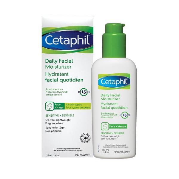 Buy Cetaphil Daily Facial Moisturizer Spf 15 120ml In