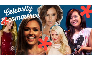 Celebrities with e-commerce sites