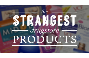 10 strangest drugstore products