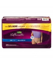 Depend Silhouette Small/Medium Maximum Underwear