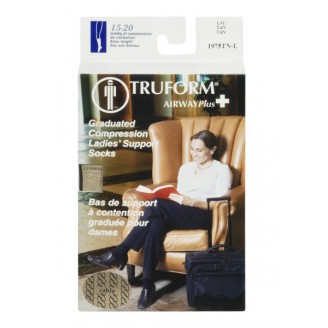 Truform Airway Plus Ladies' Graduated Compression Support Socks