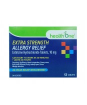 health One Extra Strength Allergy Relief 12's