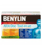 Benylin All-In-One Extra Strength Cold & Flu Day and Night Caplets
