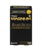 Trojan Magnum BareSkin Latex Lubricated Condoms