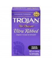 Trojan Her Pleasure Ultra Ribbed