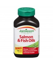 Jamieson Salmon & Fish Oils Bonus Pack