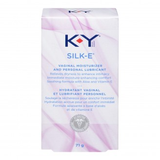 K-Y Silk-E Vaginal Moisturizer and Personal Lubricant