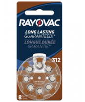 Rayovac Size 10 Hearing Aid Batteries 24 pack