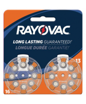 Rayovac Size 10 Hearing Aid Batteries 8 pack