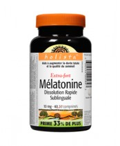 Holista Melatonin Extra Strength Easy-Dissolve