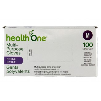 health One Multi-Purpose Nitrile Gloves - Medium