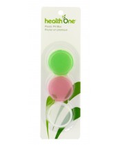 health One Round Plastic Pill Box