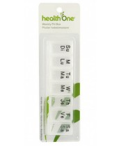 health One Large Weekly Pill Organizer
