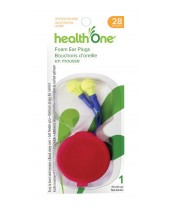 health One Foam Ear Plugs