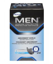 Tena Men Leakage Protection Absorbent Sheild Light