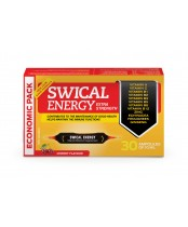 Laboratoire Suisse Swical Energy Forte Formula Vitamin and Mineral Supplement Economic Pack Cherry