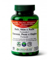Greeniche Hair, Skin & Nails Formula