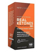 Keto Science Real Ketones Caps Dietary Supplement
