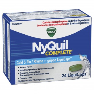 Vicks NyQuil Complete Cough, Cold, and Flu Relief