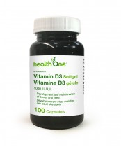 health One Vitamin D3 Softgels