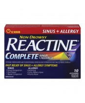 Reactine Allergy + Sinus Non-Drowsy