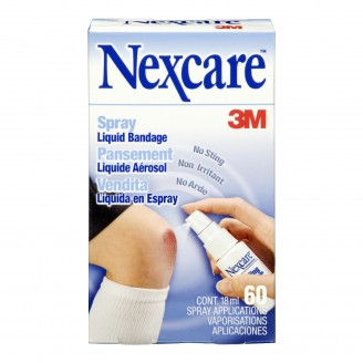 3M Nexcare No Sting Spray Liquid Bandage