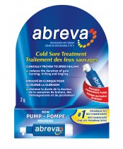 Abreva Cold Sore Treatment Pump