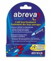 Abreva Cold Sore Treatment Tube