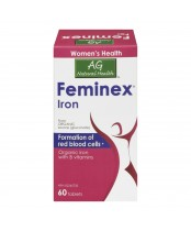 Adrien Gagnon Natural Health Feminex Iron Tablets
