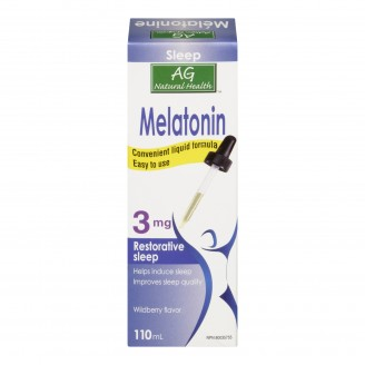 Adrien Gagnon Natural Health Melatonin Formula