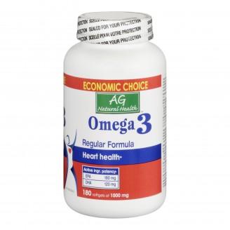 Adrien Gagnon Natural Health Omega-3 Softgels