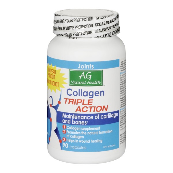 buy adrien gagnon natural health triple action collagen capsules in canada free shipping. Black Bedroom Furniture Sets. Home Design Ideas